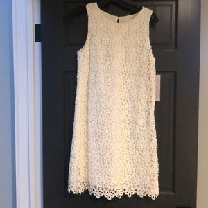 Jcrew wedding collection white flower eyelet dress